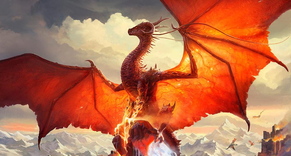 Dragón rojo el más temido