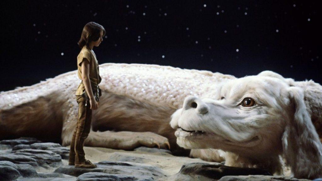 Fújur el dragón de la historia interminable