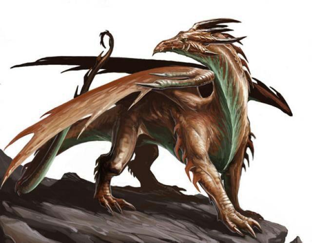 Dragones cobre