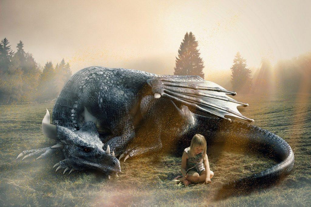 Imagen de dragón guardián personal