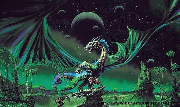 Dragones verdes