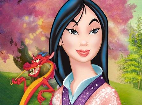Mushu y Mulan