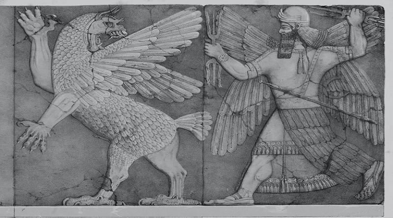 Historia de Anzû, el que conoce los cielos