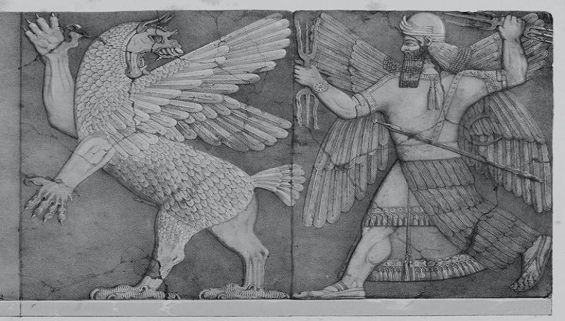 dragones mesopotamicos