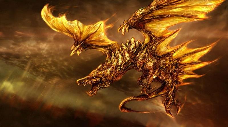 Dragones dorados
