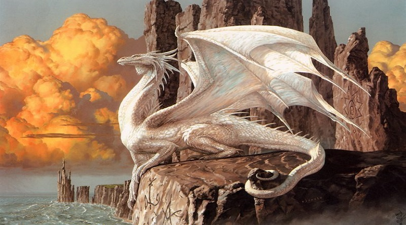 Dragones plateados