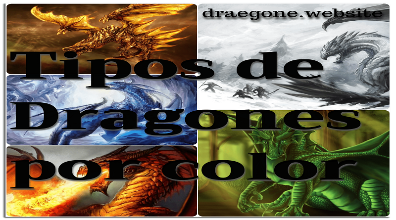 Tipos de dragones por color