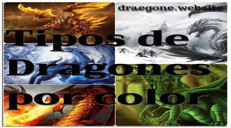 Tipos de dragones por color