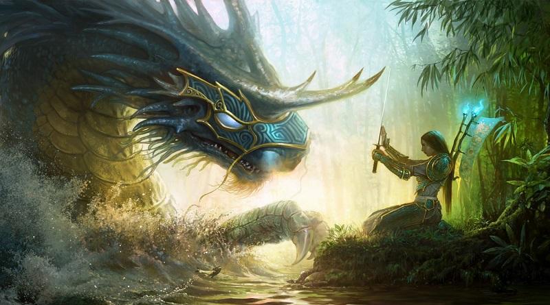 Dragón Addanc y la mitología celta