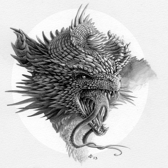 los Dragones Addanc y la mitología celta