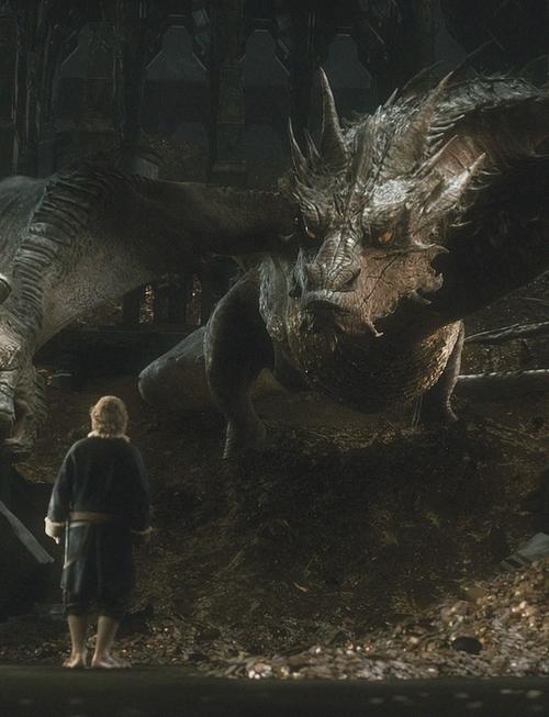 Smaug y el hobbit