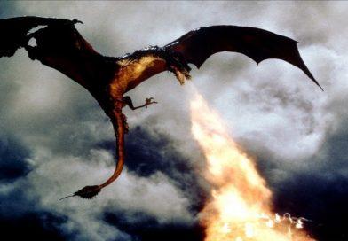 El dragón del lago de fuego Dragonslayer