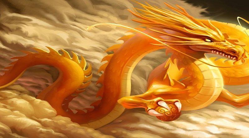 Tianlong el dragón celestial chino