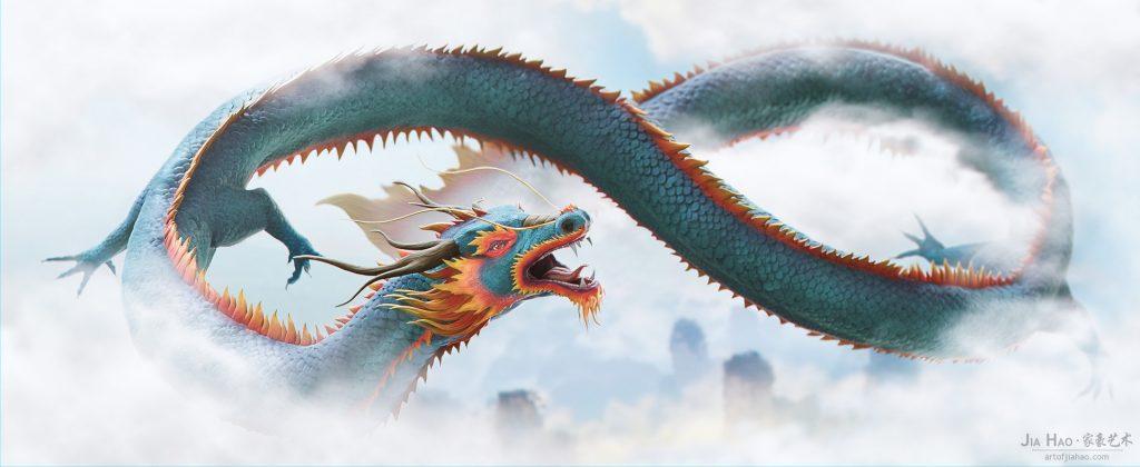 los nueve dragones chinos tianlong